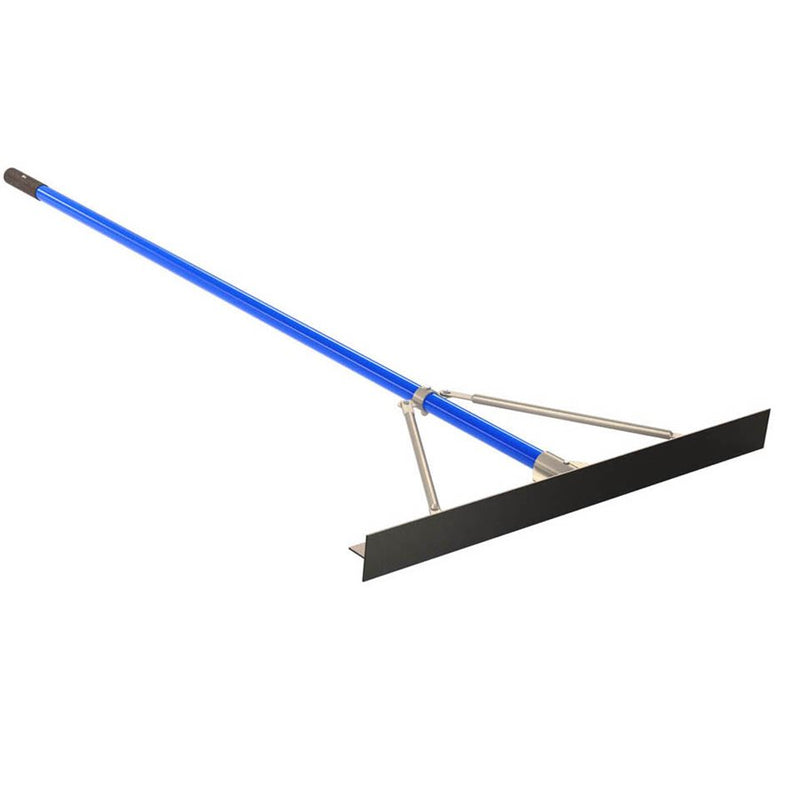 "Smooth Asphalt Lute Rake - 36"" With 6' Handle"
