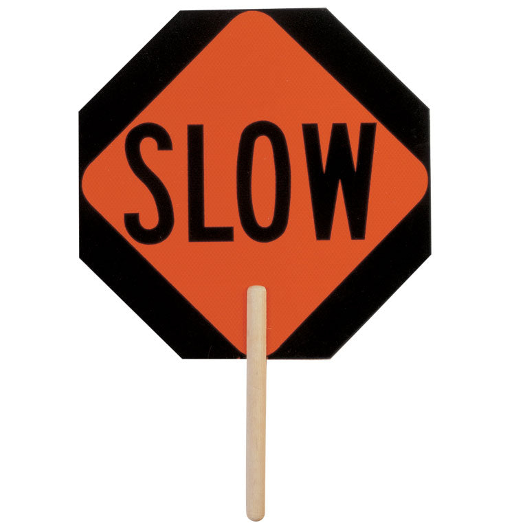 Non-Reflective Slow Sign