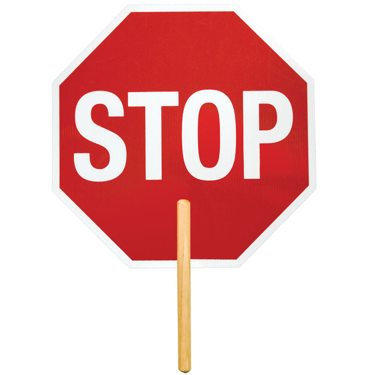 Reflective: High Intensity Grade Stop Sign