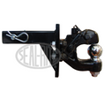 Combo Pintle Hitch with 2 5/16″ Ball Hitch