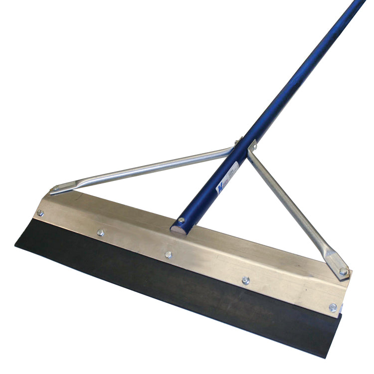 "36"" Round Edge SealCoat Squeegee with 7' Handle"
