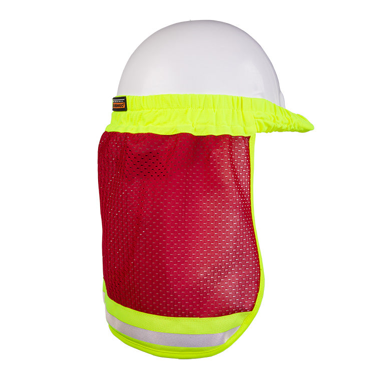 Enhanced Visibility Hard Hat Sun Shield