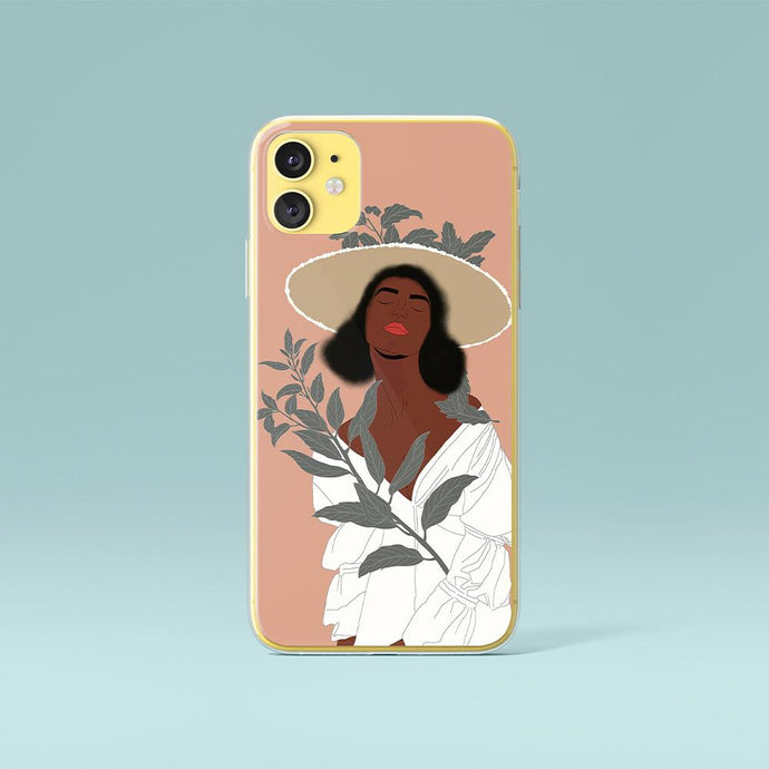 Custodia per iPhone originale Black Woman Art