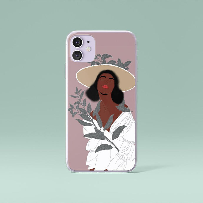 Pink iPhone case foe Black Woman