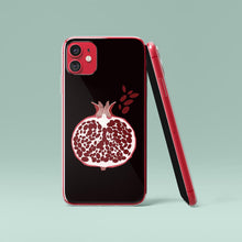 Load image into Gallery viewer, Dark iPhone Case Pomegranate