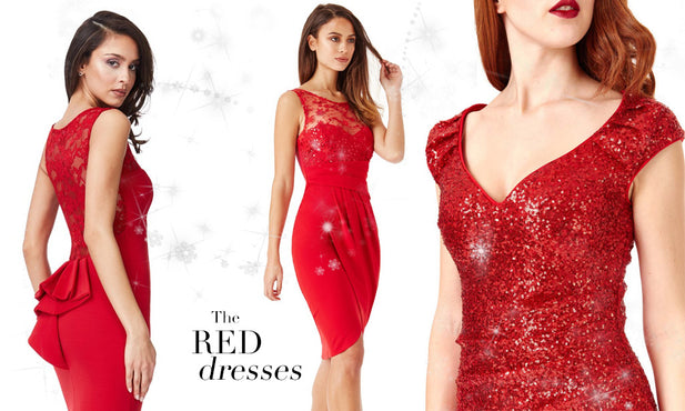 Xmas Dresses Guide (4/6): The Red Dress  All you need to know
