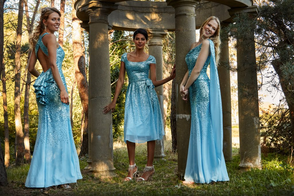powder blue dresses