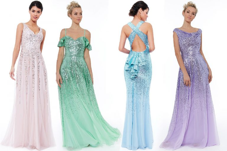 Long Sparkly Prom Dresses