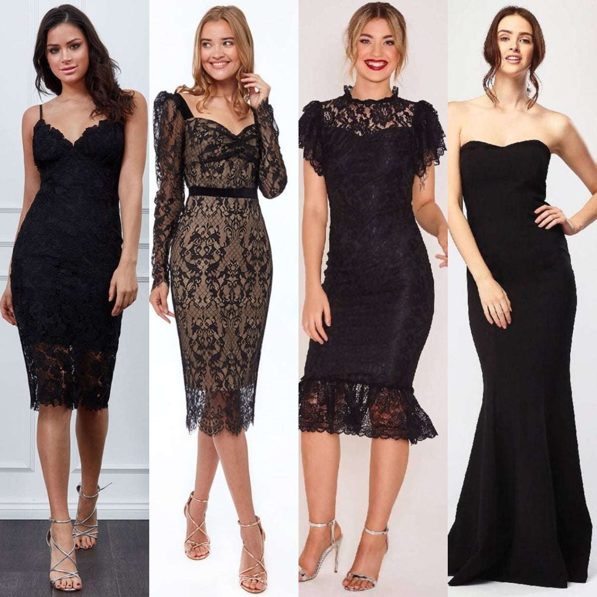 Black Dresses Date Night Outfit Ideas