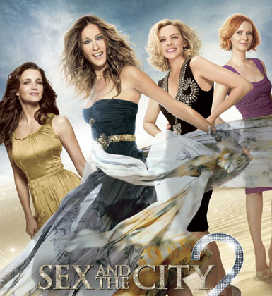 Sex And The City 2 Poster... slightly too airbrushed!