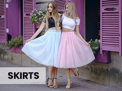 SKIRTS - SHOP NOW >