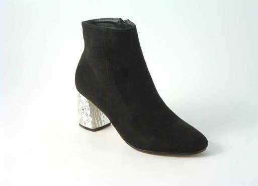 Sparkle Heel Ankle Boots