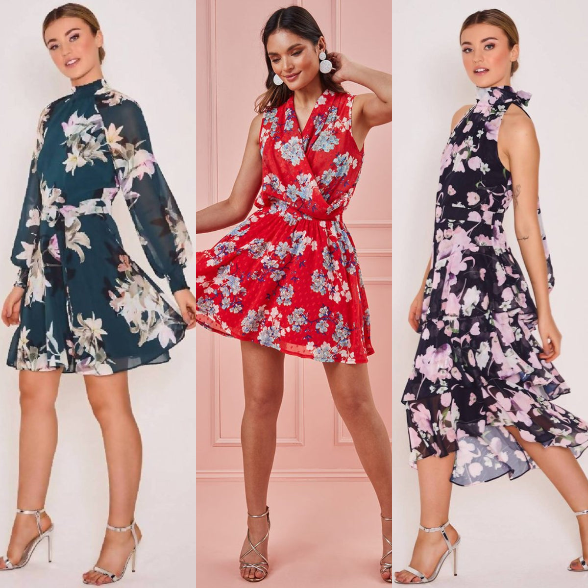 Floral Prints For Lockdown Date Night Outfit Ideas