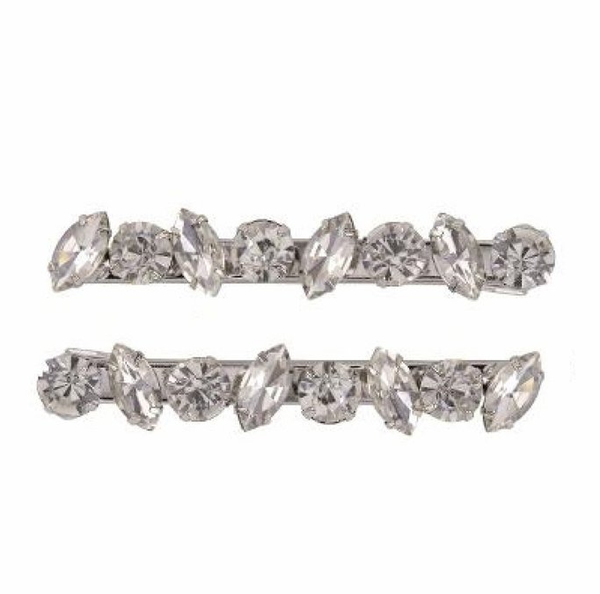 LOVEROCKS SCATTER MARQUISE CRYSTAL CLASPS