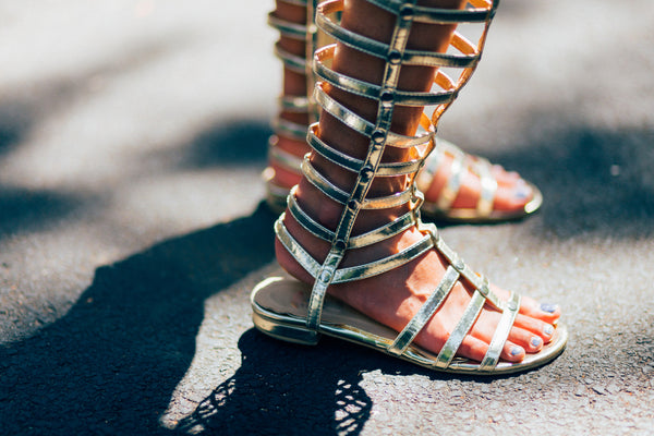 Flat Gladiator Sandals Are Out for 2021