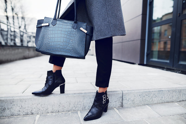 Assertive Woman Ankle Boots