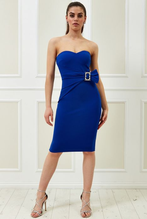 vicky-pattison-buckle-bandeau-midi-dress-royalblue