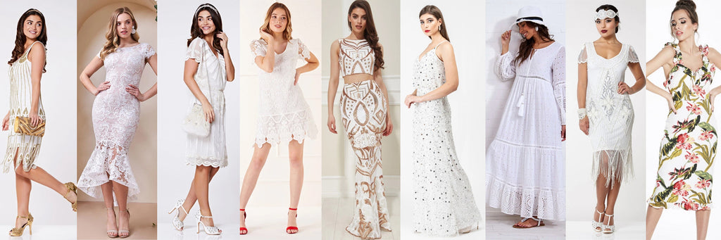 Top 10 White Party Dresses