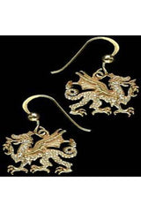 Simon Kemp Jewellers Welsh Dragon Earrings