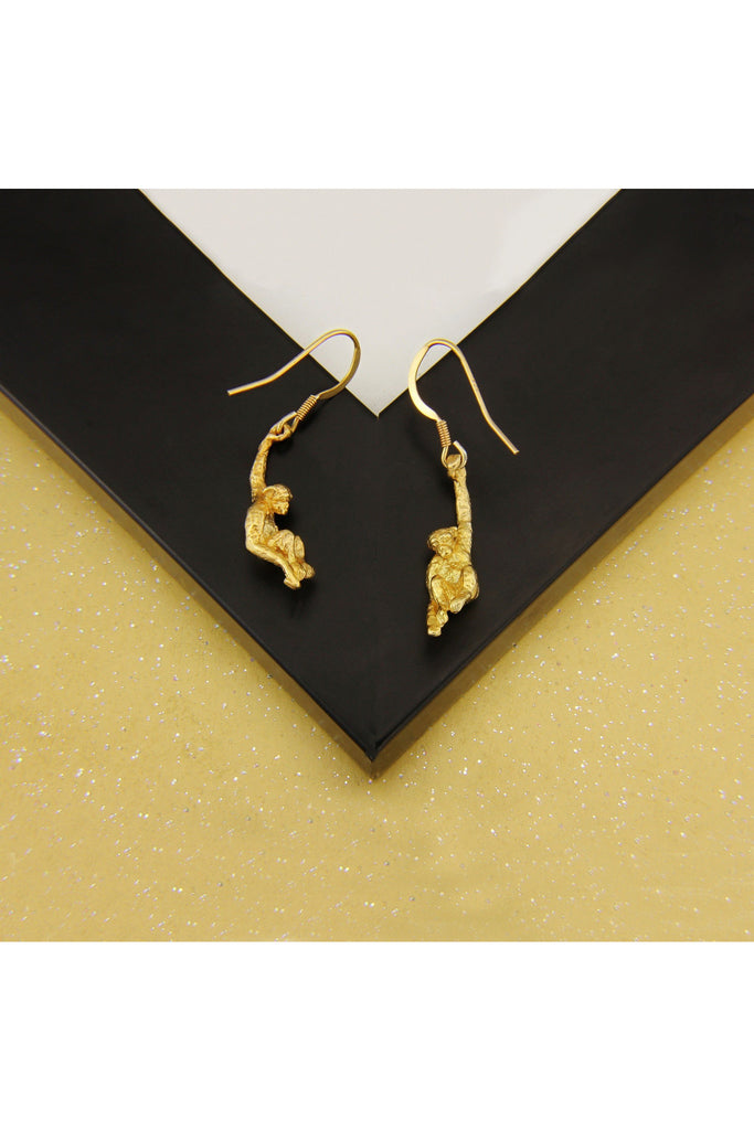 Simon Kemp Jewellers Monkey Earrings