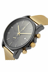 Tayroc Modern Black and Gold Watch | Rapture