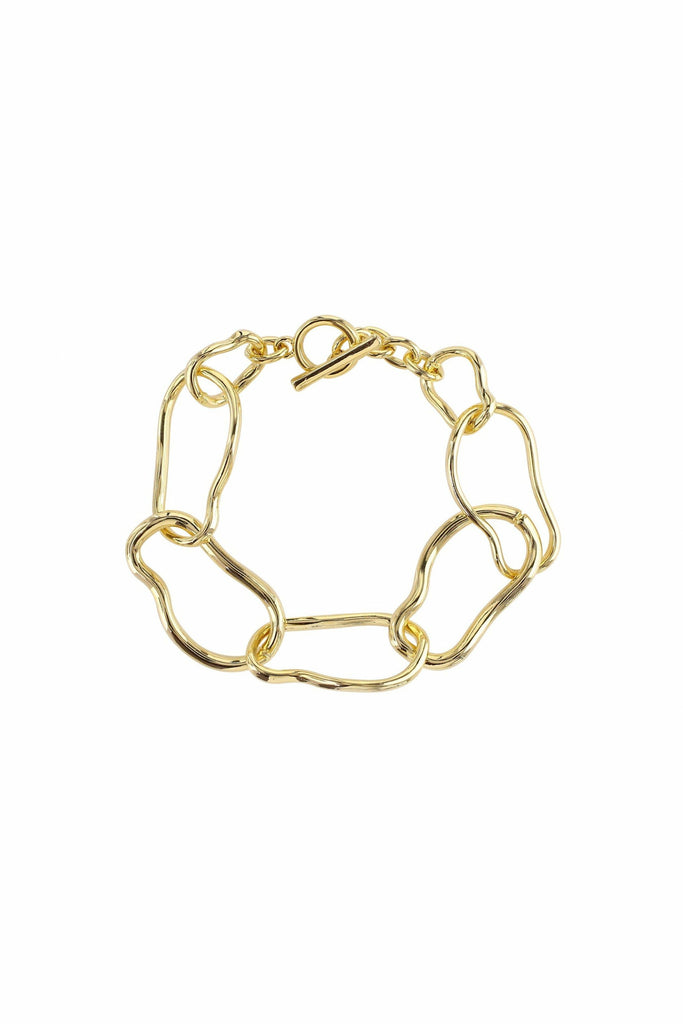 LoveRocks ABSTRACT LINK CHAIN BRACELET