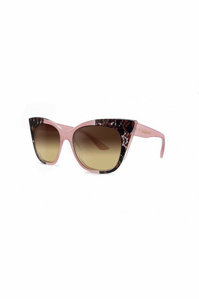 RubyRocks Animal Tip 'Gozo' Cateye in Pink