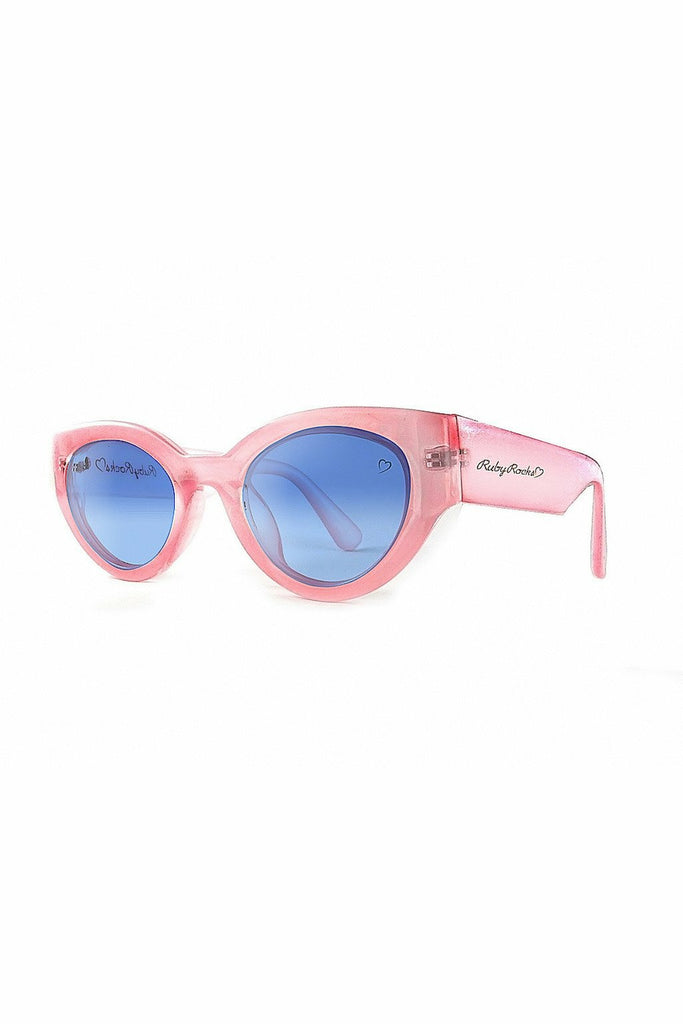 RubyRocks Chunky 'Zante' Cateye in Pink