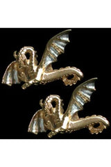 Simon Kemp Jewellers Wide Wing Dragon Cufflinks