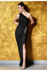 Revie London Amy One Shoulder Maxi Dress