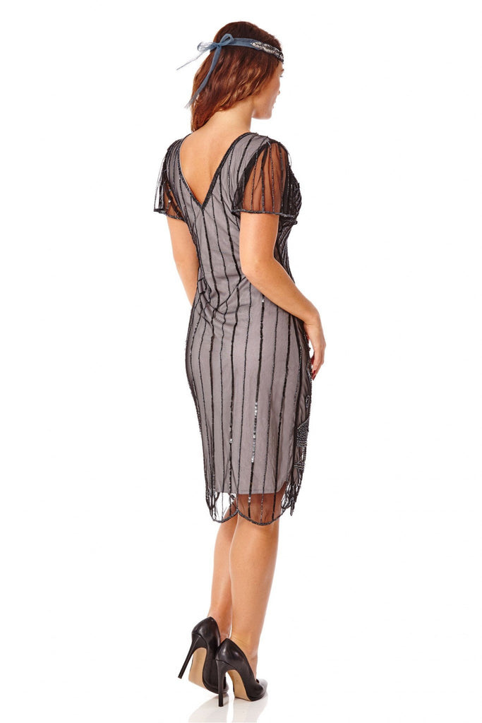 Daisy Vintage Inspired Flapper Dress Gatsbylady London