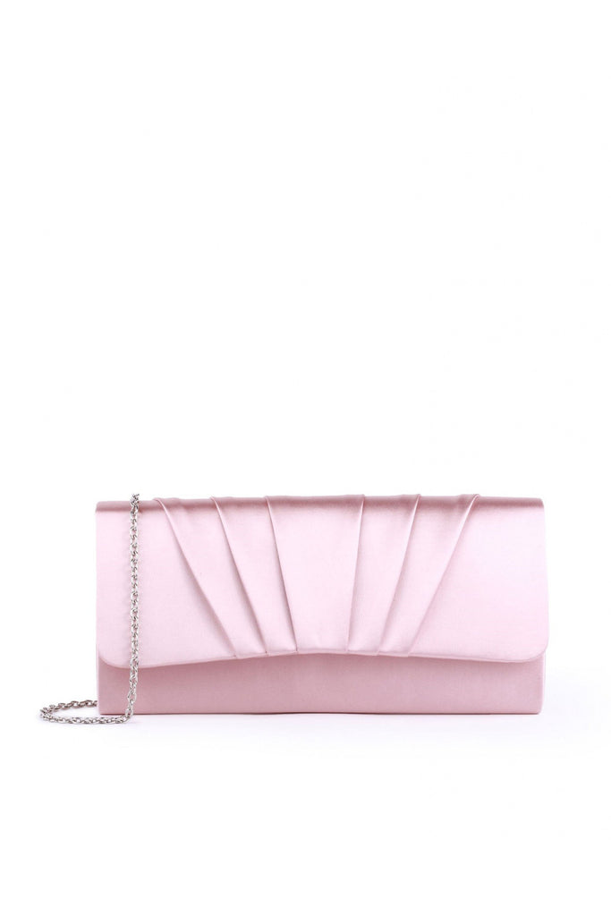 Paradox London Satin 'Darrah' Clutch Bag