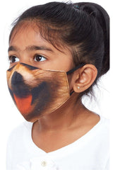 Goddiva Kids Cotton Face Mask - Dogface