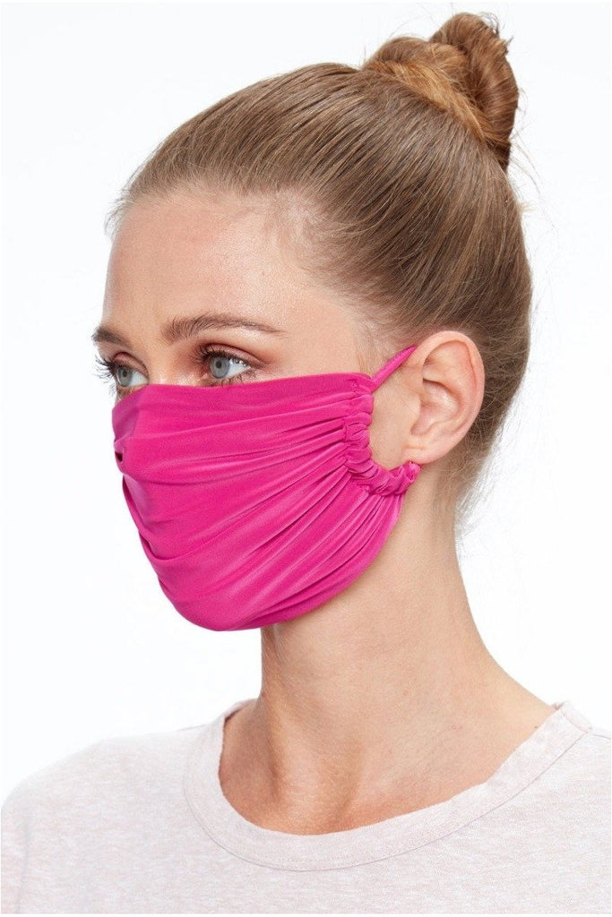 Goddiva Fashion Face Mask - Magenta