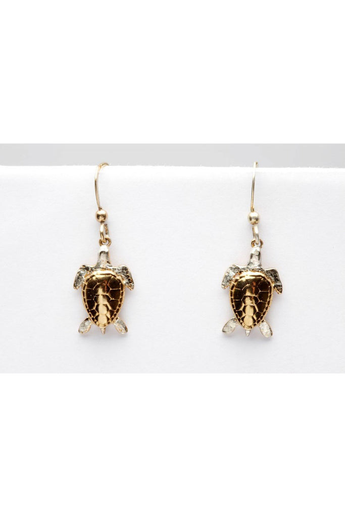 Simon Kemp Jewellers Turtle Earrings