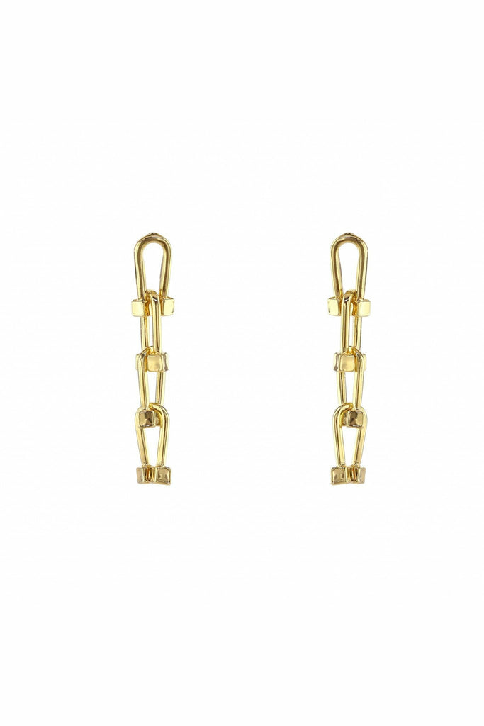 LoveRocks NAUTICAL CHAIN DROP EARRING