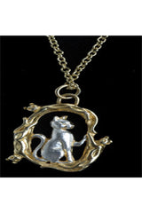 Simon Kemp Jewellers Sitting Cat Pendant