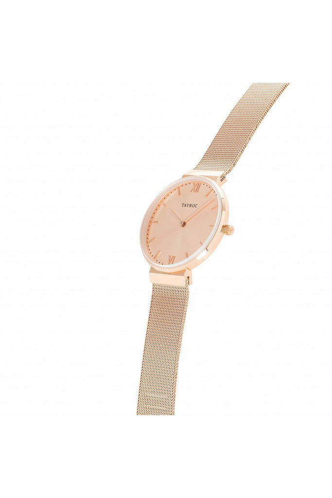 Tayroc Ladies All Rose Gold Timepiece | Rose Gold Watch