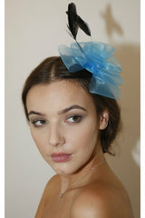 RubyRocks Perla Fascinator - Blue