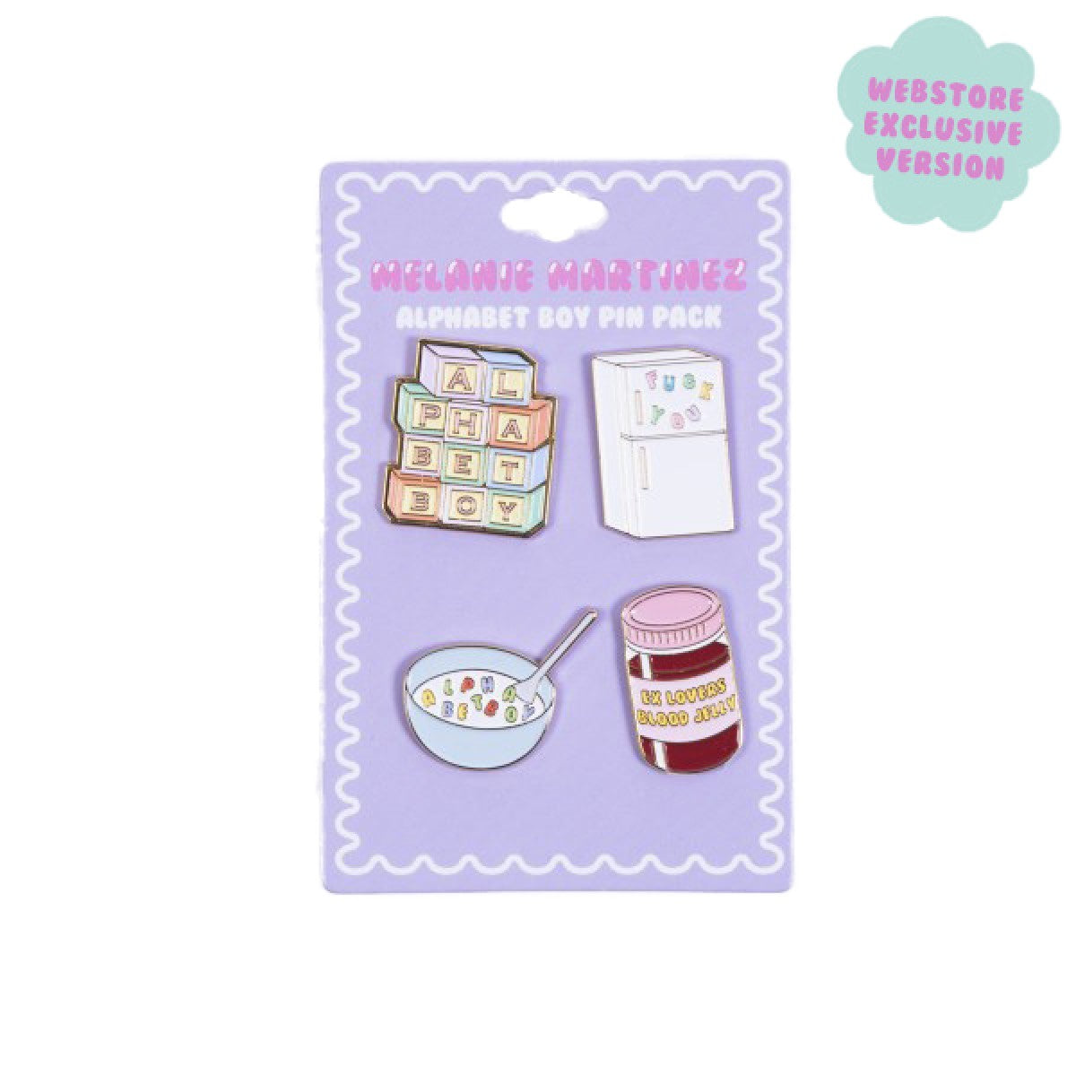 Melanie Martinez Alphabet Boy Pin Pack
