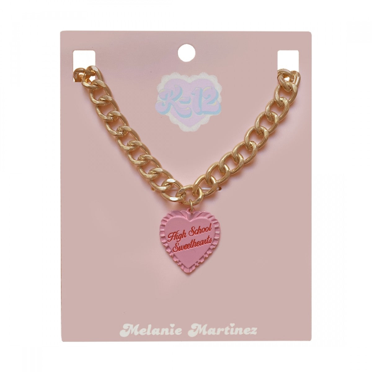 Melanie Martinez High School Sweetheart Necklace