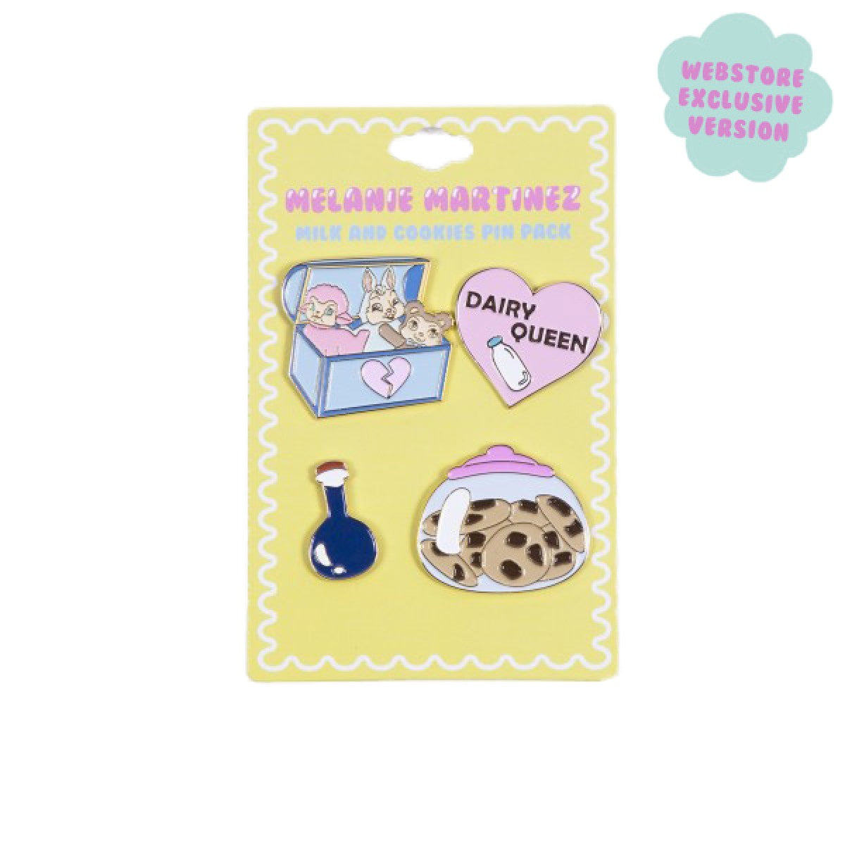 Melanie Martinez Milk & Cookies Pin Pack
