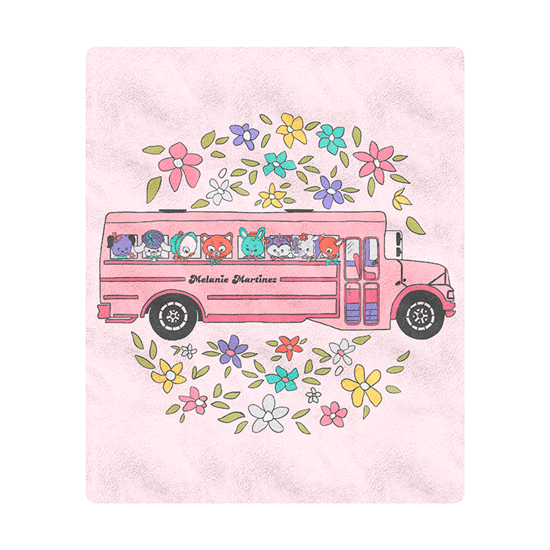 School Bus Blanket