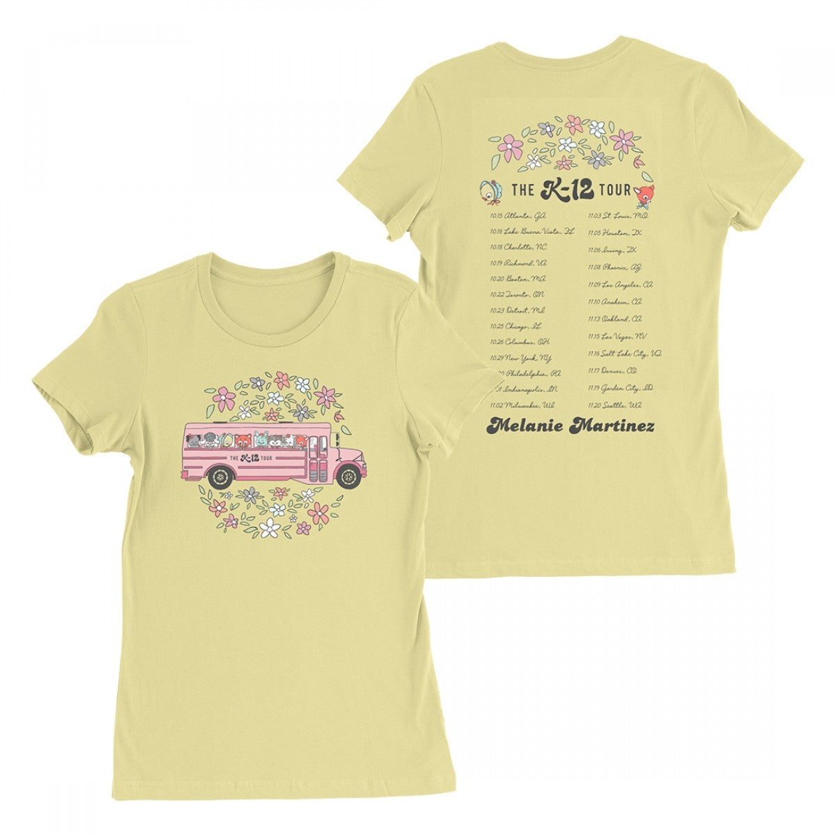 Melanie Martinez School Tour Bus T-Shirt