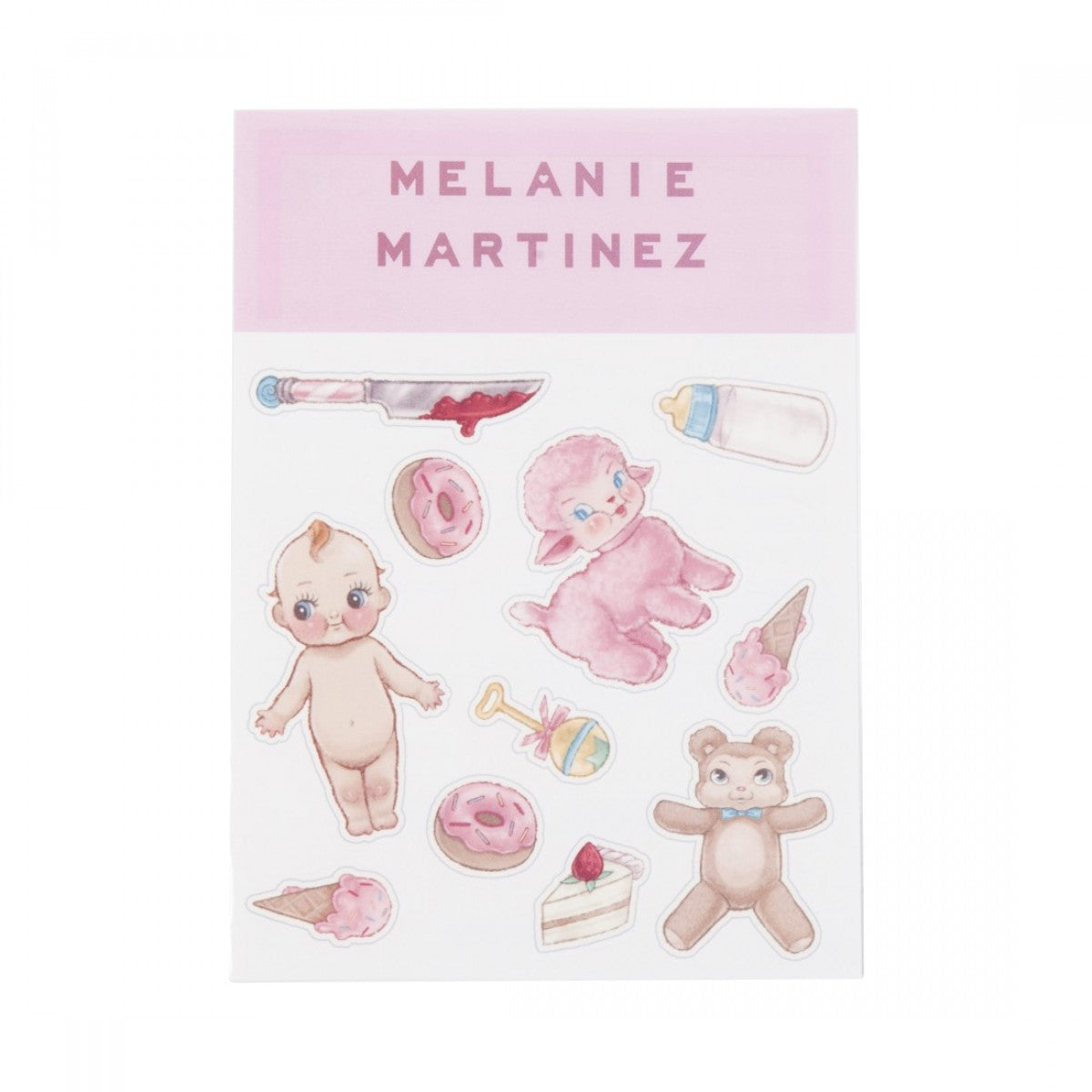 Melanie Martinez Toy Temporary Tattoo