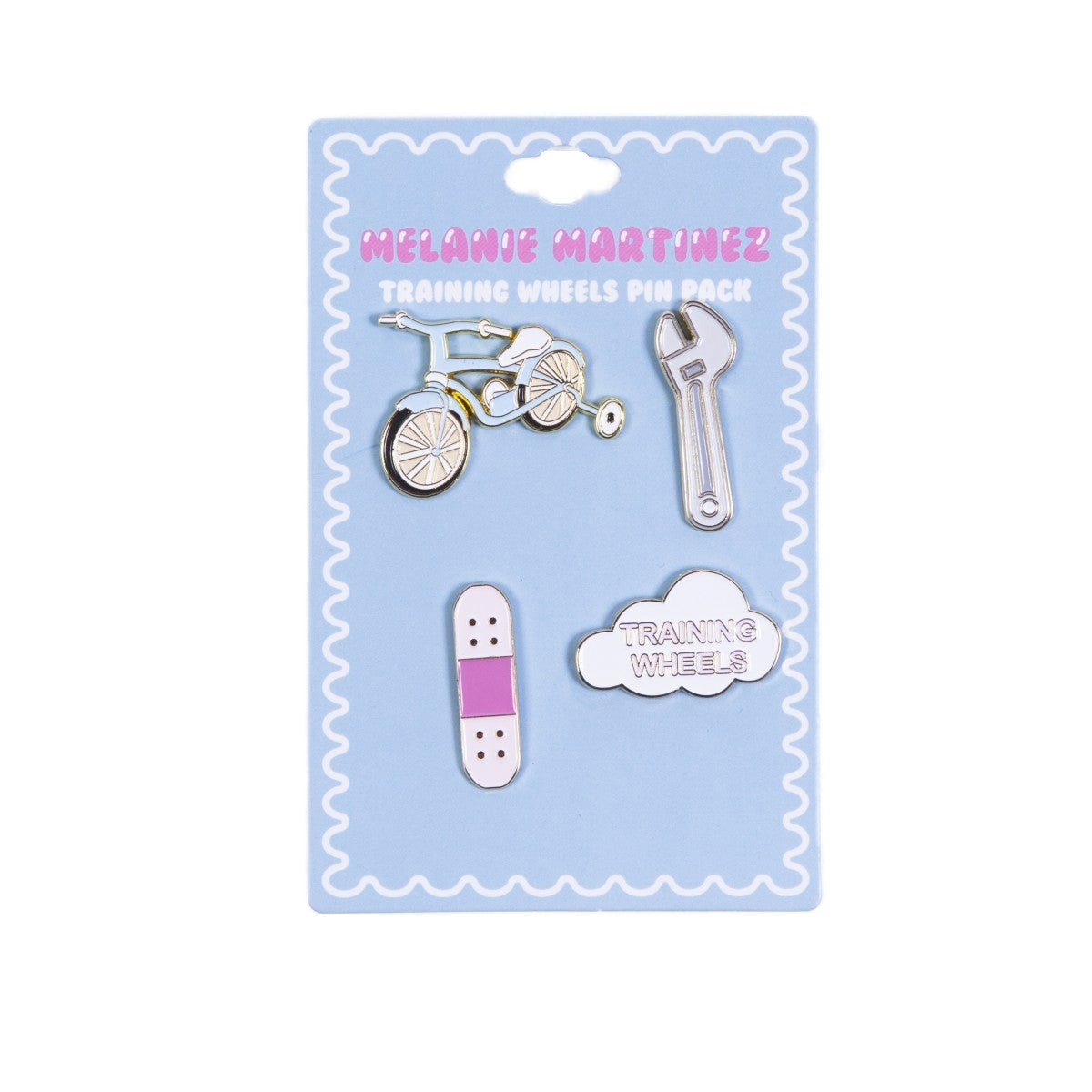 Melanie Martinez Training Wheels Pin Pack
