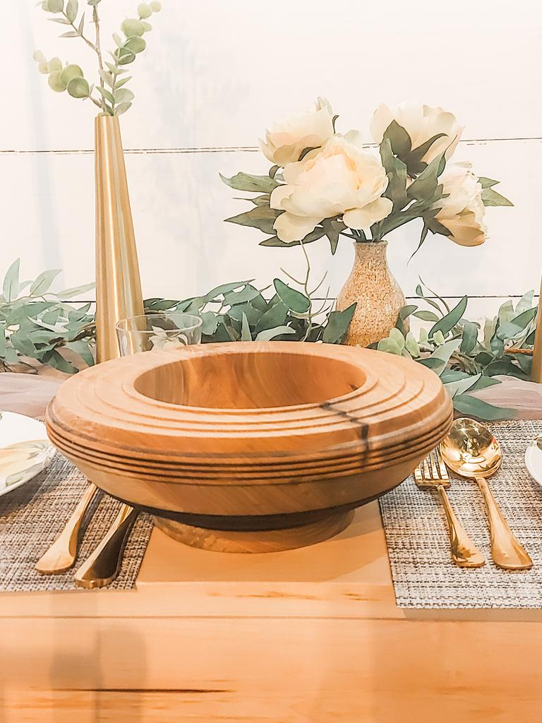 Maple bowl-Dave Barry's wooden bowl collections