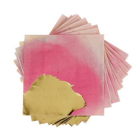 Brushstroke Multi Cocktail Napkin