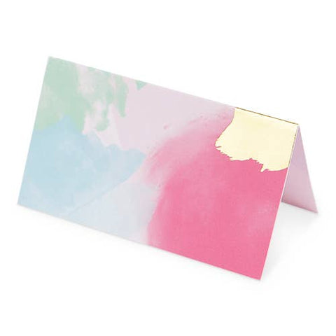 Brushstroke Multi Place Cards