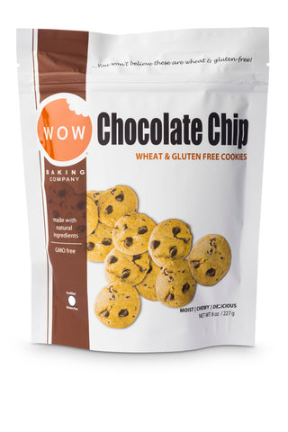 Chocolate Chip Resealable Bag